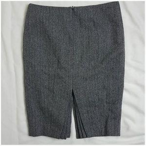 Ted Baker London wool herringbone pencil skirt 4